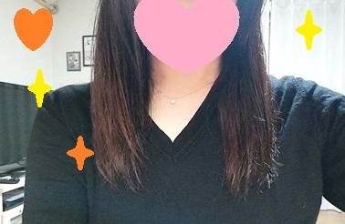 ナノケアドライヤーで乾かした髪