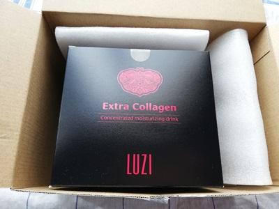 LUZIルーツーエキストラコラーゲンの外箱