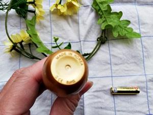 センシア美顔器の底にあるメイドインKOREAの文字